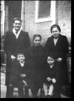 Bruno Cornacchiola z rodziną