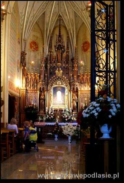 Kaplica z obrazem Matki Boskiej Płonkowskiej