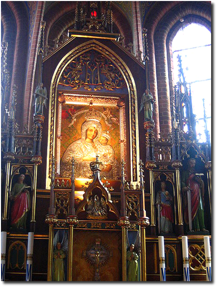 Obraz Matki Boskiej Gietrzwałdzkiej