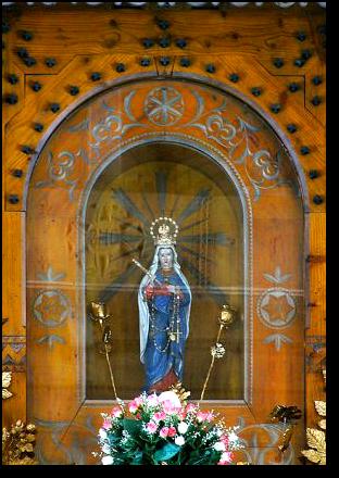 Figurka Matki Boskiej Jaworzyńskiej