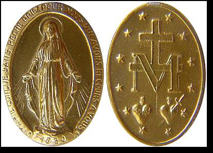 Medalik - objawienie przy Rue du Bac