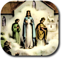 Objawienie w Knock - Królowa Irlandii