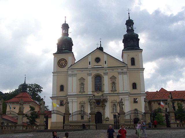 Bazylika Matki Bożej Anielskiej w Kalwarii Zebrzydowskiej, fot. Piotrus (CC BY-SA 3.0).