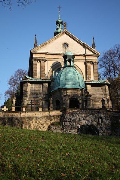 Kościół Zaśnięcia NMP - Kalwaria Zebrzydowska, fot. Ludwig Schneider (CC BY-SA 3.0).