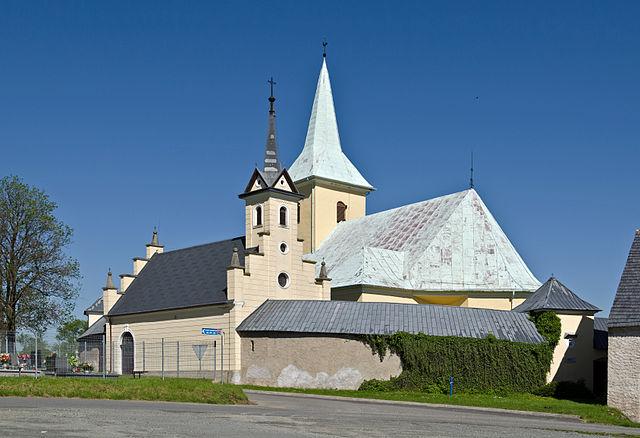 Kościół w Starym Wielisławiu, fot. Jacek Halicki (CC-BY-SA-3.0-pl)
