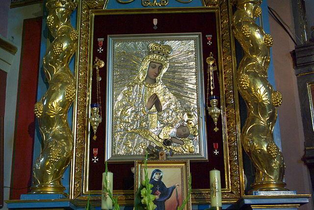 Matka Boża Pocieszenia w Sanoku, fot. Lowdown (CC BY-SA 3.0)