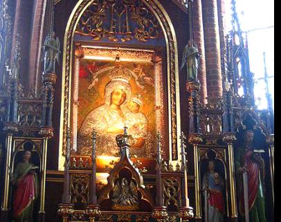 Gietrzwałd. Pani Ziemi Warmińskiej. Bazylika świętych Piotra i Pawła i Narodzenia Najświętszej Marii Panny