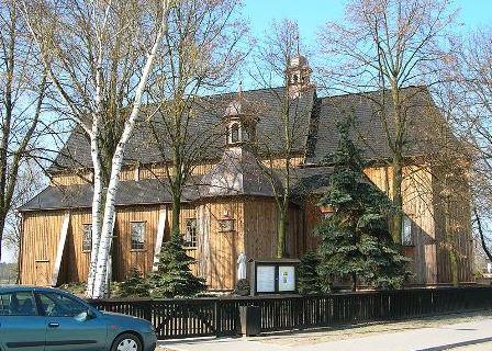 Pieranie. Matka Boża Łaskawa. Kościół św. Mikołaja
