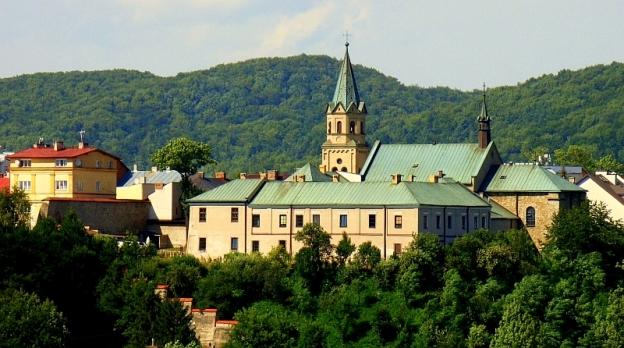 Kościół i klasztor Franciszkanów w Sanoku, fot. Silar (CC BY-SA 3.0)