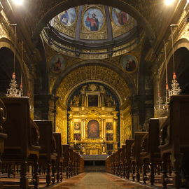 Sanktuarium w Lluc - wnętrze, fot. Pjt56 (CC BY-SA 3.0)