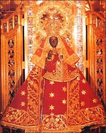 Matka Boska z Guadalupe w Hiszpanii