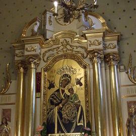 Obraz Wadowickiej Madonny - Matki Bożej Nieustającej Pomocy, fot. Pimke (CC BY-SA 3.0)