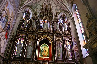 Obraz Matki Boskiej Murkowej, źródło: www.franciszkanie.pl