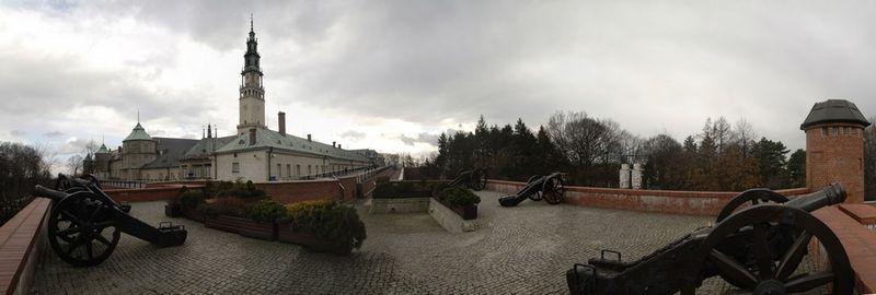 Jasna Góra - panorama z Bastionu św. Rocha, fot. Jaroslaw Jankowski (CC BY-SA 3.0)
