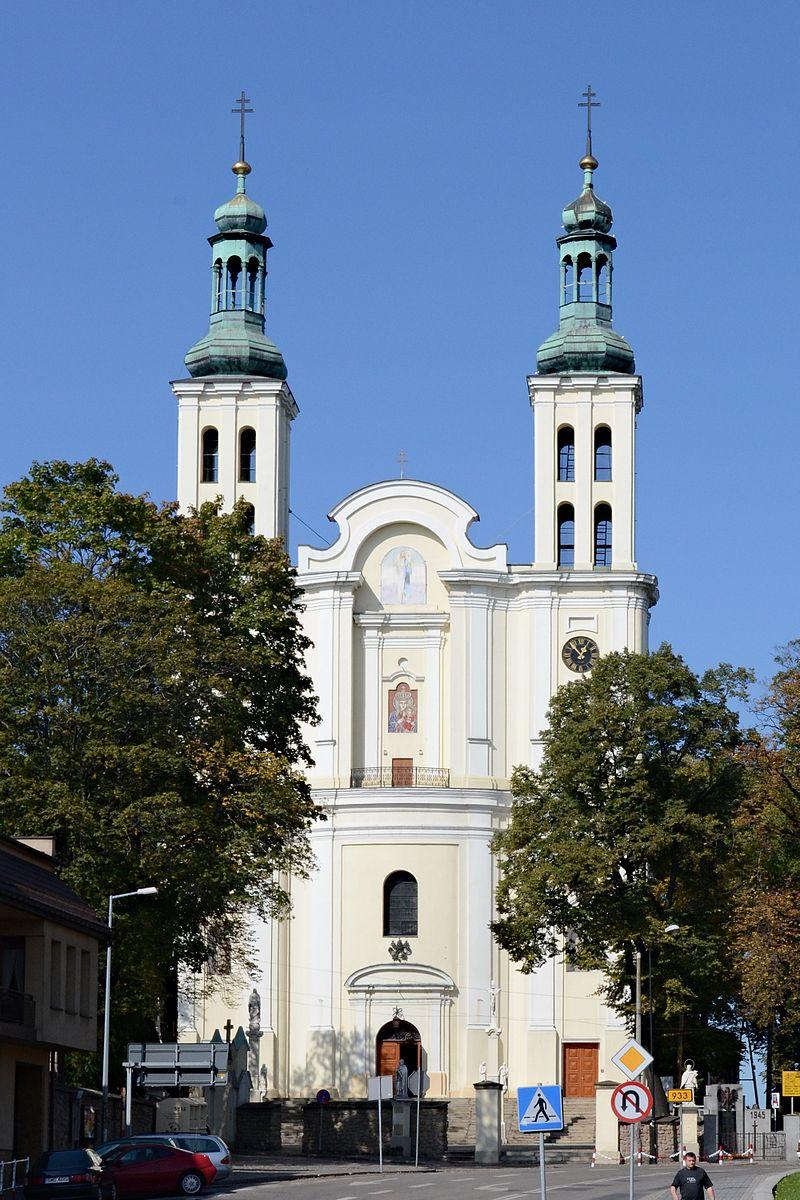 Bazylika Narodzenia Najświętszej Maryi Panny w Pszowie, fot. Aleksander Bartel (CC BY-SA 3.0 pl)