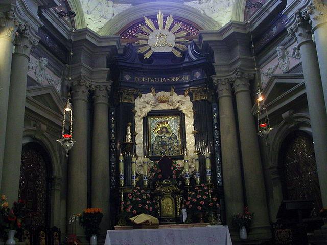 Kaplica z obrazem Matki Bożej Kalwaryjskiej, fot. Tomasz Bienias (CC BY 3.0)