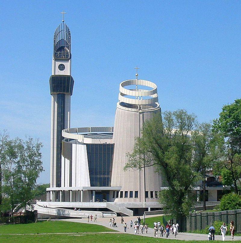 Kościół Bożego Miłosierdzia w Łagiewnikach, fot. Jarosław Dubowski (CC BY-SA 3.0)