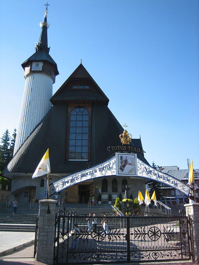 Sanktuarium Matki Bożej Fatimskiej w Zakopanem,  fot. Daro998 (CC BY-SA 3.0)