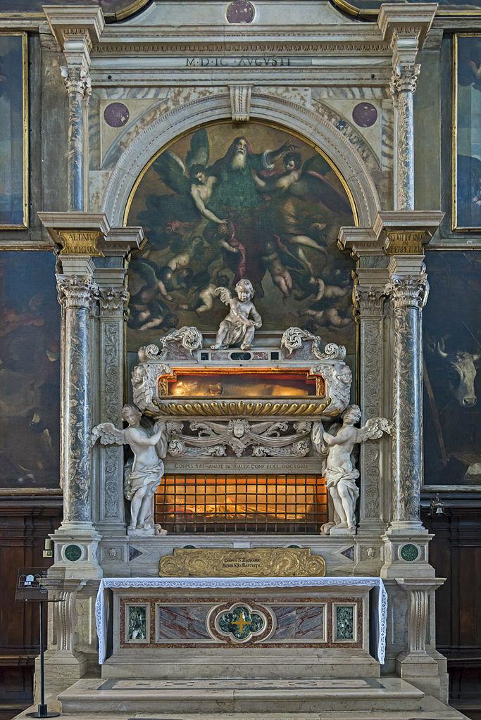 Grób Zachariasza i Atanazego w Wenecji, fot. Didier Descouens (CC BY-SA 4.0)