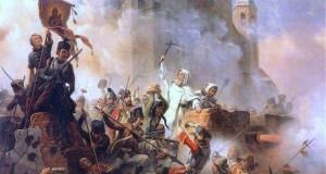 Obrona Jasnej Góry 1655, mal. January Suchodolski (1797–1875)