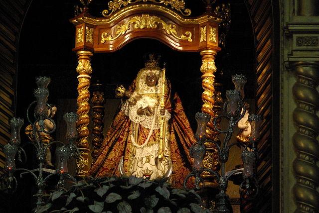 Figura Matki Bożej z Candelarii, patronki Wysp Kanaryjskich